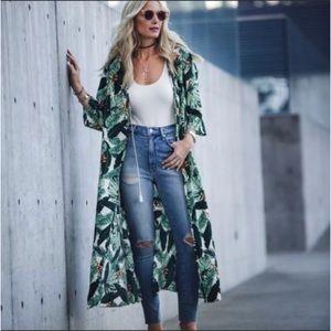 Rachel Zoe Palm Tropics Kimono